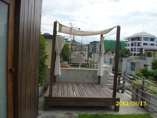 Let's Sea Hua Hin Al Fresco Resort: Himmelbett Moonrise Deck