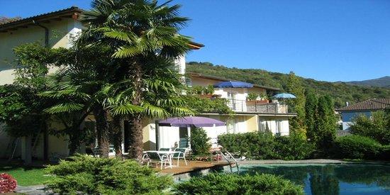 Villa Capriasca: Südansicht