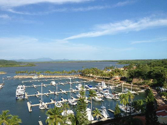 Grand Isla Navidad Resort: view of marina from room