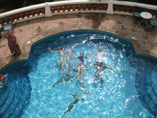 Grand Isla Navidad Resort: Dolphin pool, one of many