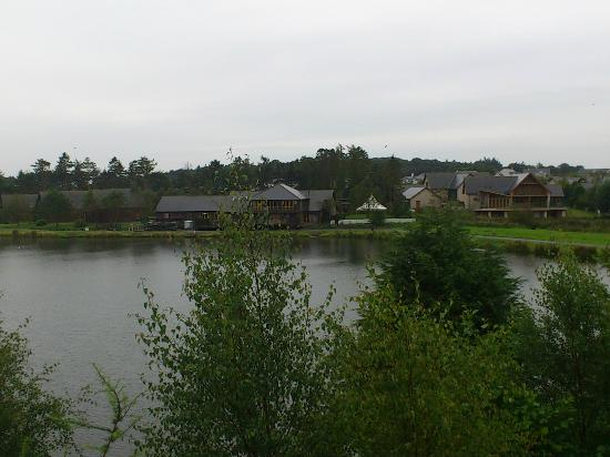 Forbes of Kingennie Country Resort: View from balcony