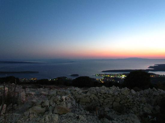 Kamenjak : beinahe Nachtblick auf Rab