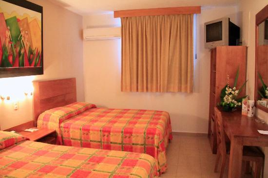 Hotel Meson de la Chinantla: habitaciones muy comodas