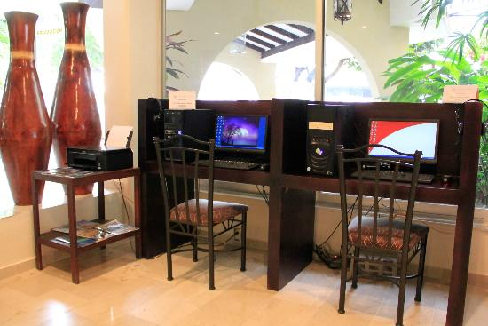 Hotel Meson de la Chinantla: centro de negocios