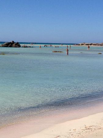 Elafonissi  Beach: elafonissi
