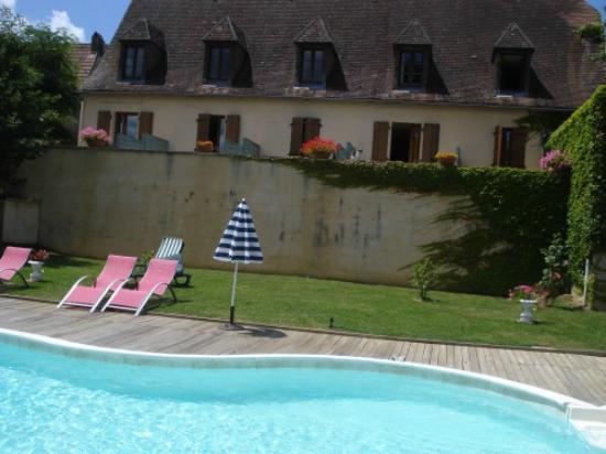 Hôtel Mounéa : vue de la chambre