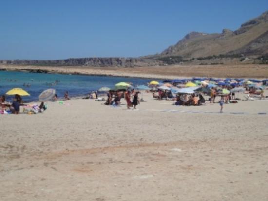 Spiaggia di Macari: spiaggia grande