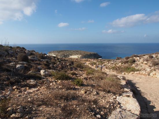 Isola dei Conigli: Percorso spiaggia dei conigli