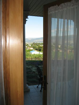 De Rosa Vineyard Bed and Breakfast: DeRosa B+B view out our private entrance