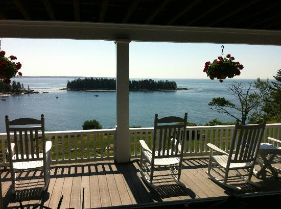 Grey Havens Inn: View from the gorgeous patio