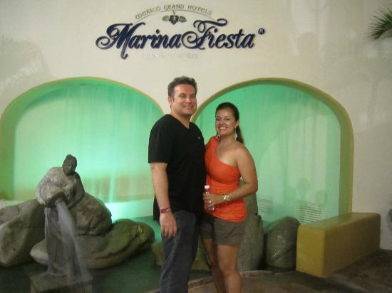 Marina Fiesta Resort & Spa: Entrance to Hotel from Marina