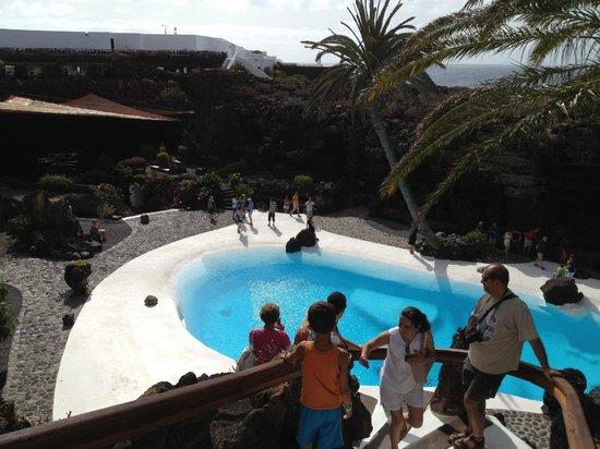 Restaurante: fotografía de Jameos Del Agua, Punta Mujeres - TripAdvisor