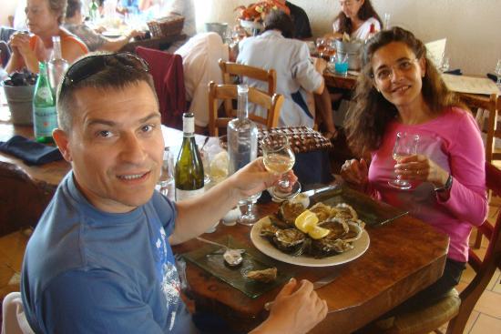 Le Clos de la Garenne: Ostras ostras ostras !!!!