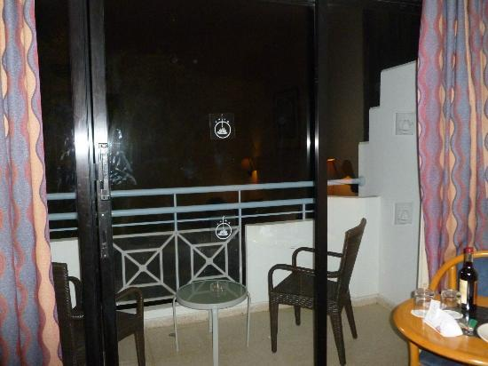 Hotel St. George: Balcon de la chambre