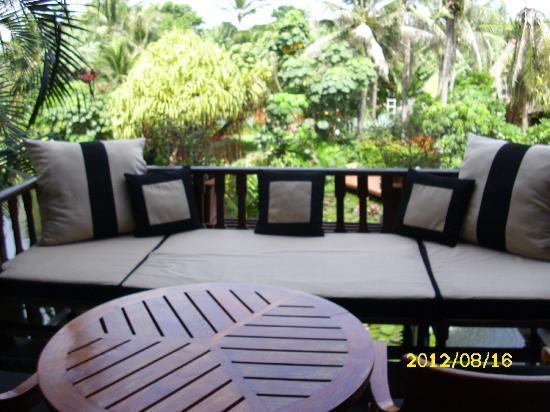 Anantara Hua Hin Resort : Balkon Lagoonrooms