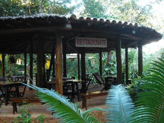 Canto no Bosque Restaurante: salão do restaurante no bosque