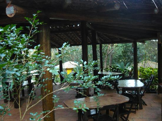 Canto no Bosque Restaurante: salão no bosque