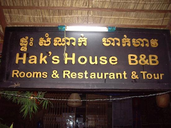 Hak's House Residence: Hak's House before sunrise visit to Angkor Wat