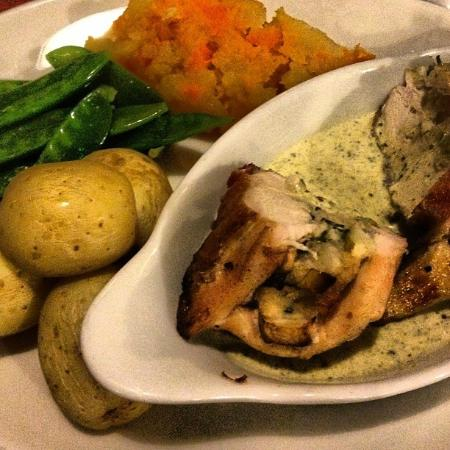 The Strand Bar: Stuffed Chicken