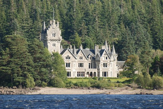 Ardverikie Estate: The main house (which is private and not open to guests)