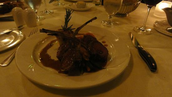 Restaurant La Cremaillere : Pic does not justice to the lamb chop presentation