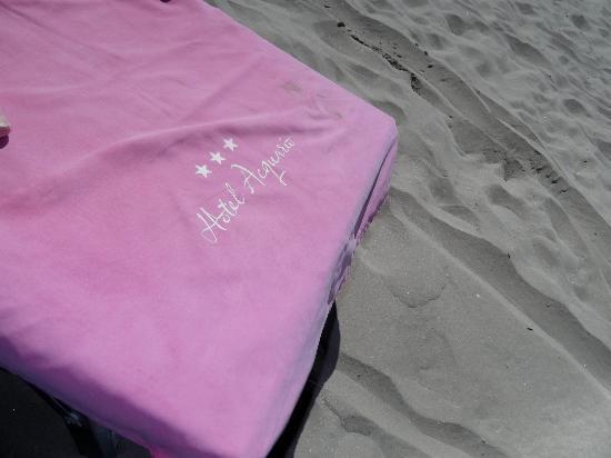 Hotel Acquario: In spiaggia