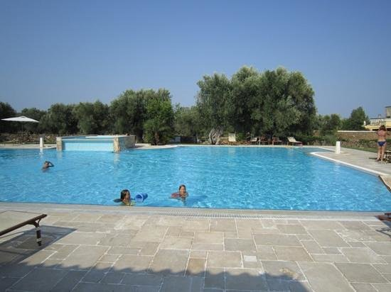 Tenuta Monacelli : la piscina