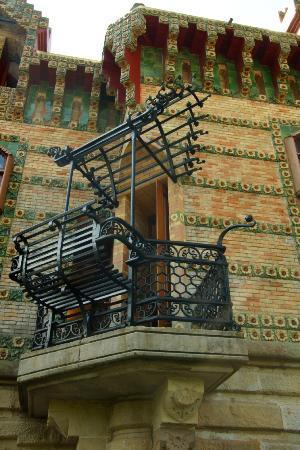 Comillas, Spain: Balcony seat