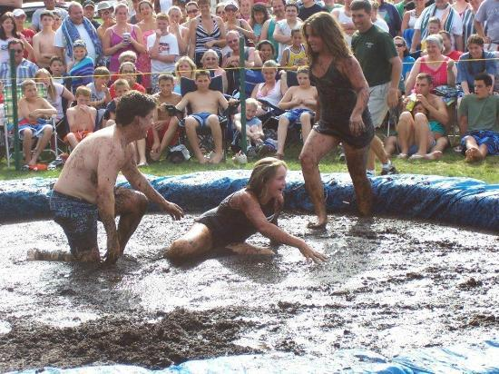 Strawberry Park Resort: mud wrestling