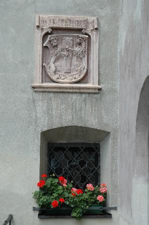Hall in Tirol, Austria: Detail of Town Hall