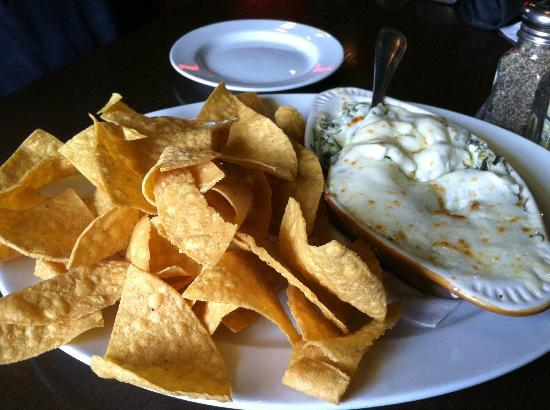Olde Liberty Station: Baked Spinach and Artichoke Dip