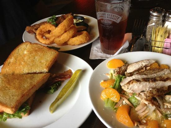 Olde Liberty Station : Catfish, Fried Green BLT, and Almond Joy Chicken Salad JOY CHICKEN SALAD