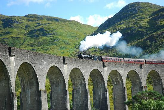 Jacobite Steam Train : En route to Hogwarts