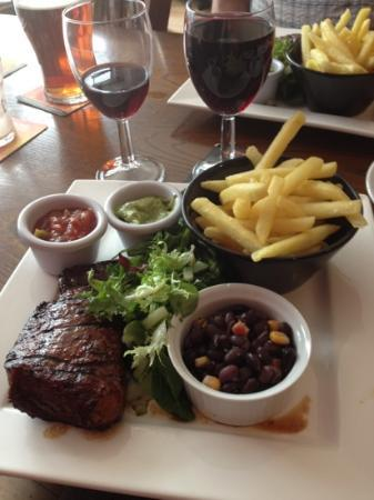 The Old Bell Pub: best steak ever tasted