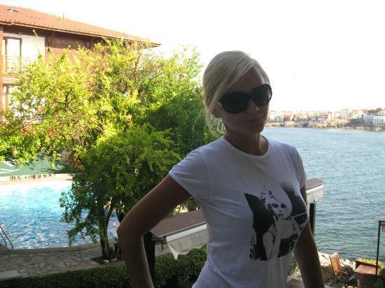 Hotel Villa Plattara: Вид из номера