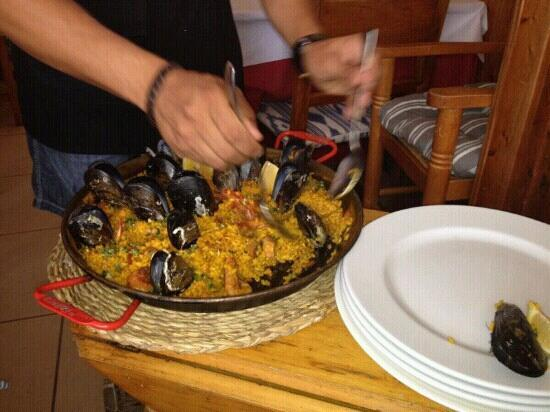 Restaurante El Balear: buen?sima la paellita!!!