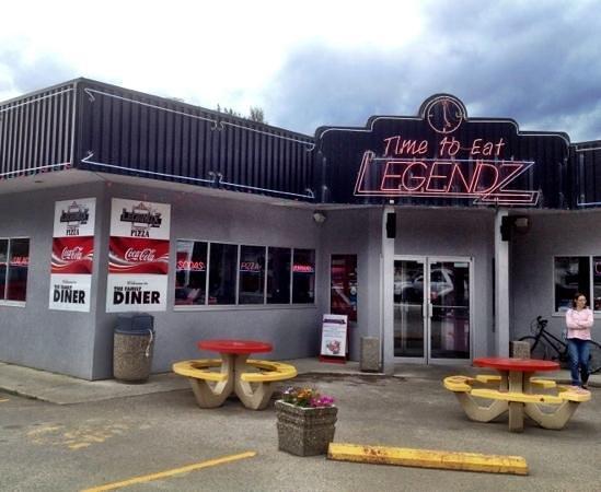 Legendz Diner: Legendz in Golden, BC.