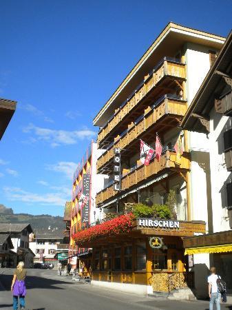 Hotel Hirschen: Fachada