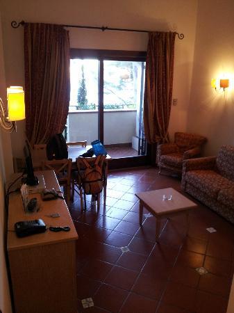 Hotel Filippo II: salotto 
