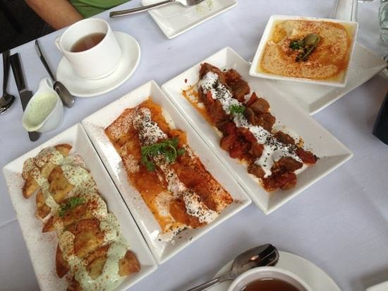 4 delicious vegetarian appetizers picture of ariana for Afghan cuisine restaurant