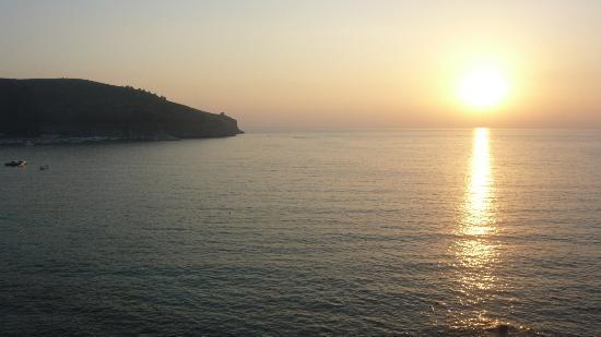 Albergo Miramare: Tramonto a Capo Palinuro