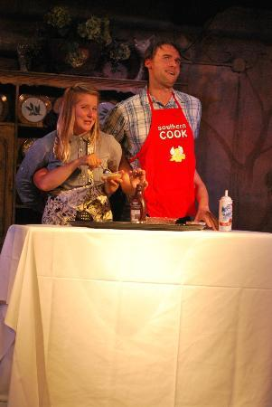 Hard Hearted Hannah's Playhouse: Cooking with Paula TV show starring Paula and Jamie (Cooking With Paula Improv Game)