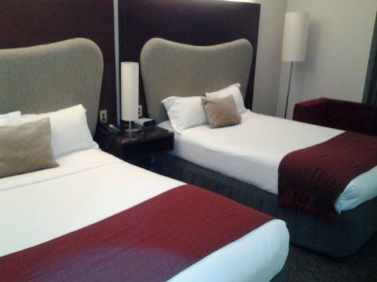 Crowne Plaza Auckland: bedding