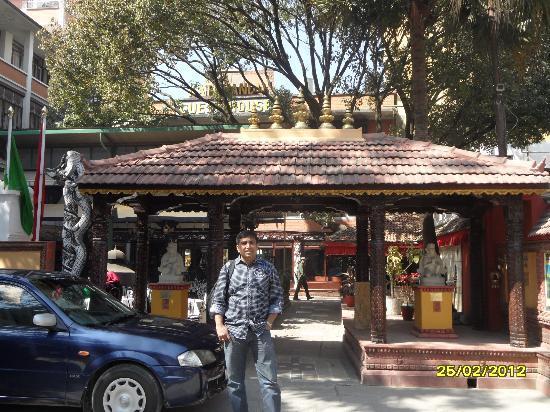 Kathmandu Guest House: Entrace