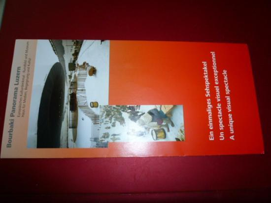 Bourbaki Panorama: brochure