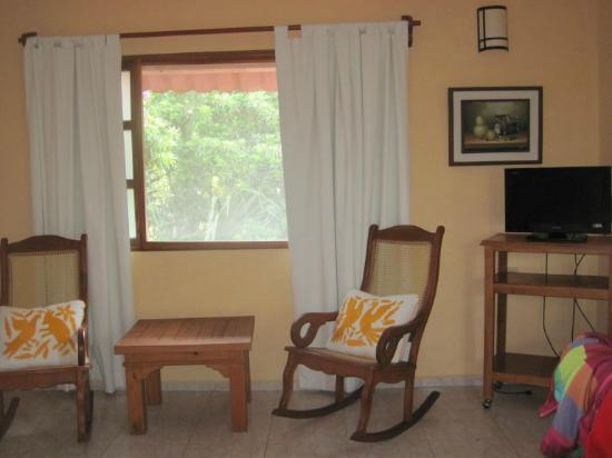 Casa Quetzal: This was my room upstairs