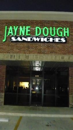 Jayne Dough Sandwiches