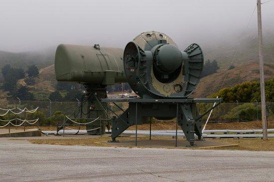 Nike Missile Site SF-88: Radar Trailer