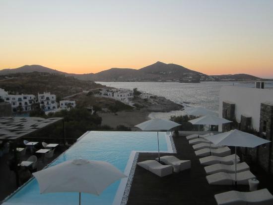 Senia Hotel: Vista desde la habitación triple