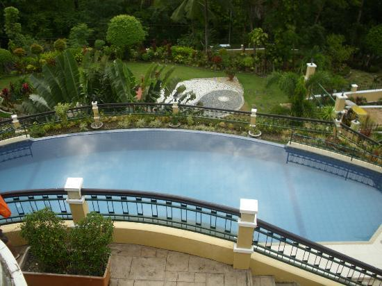 The Manor at Puerto Galera: over looking the pool